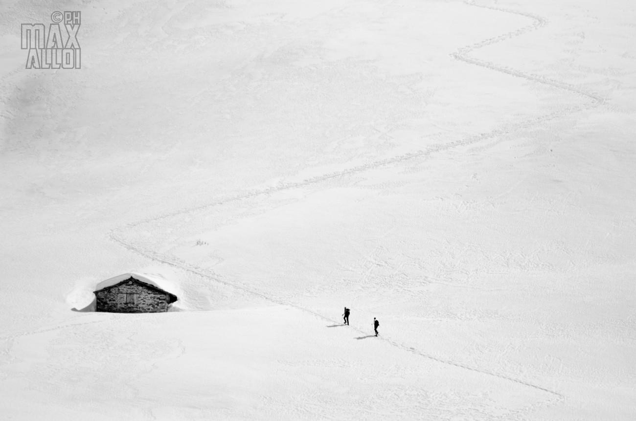 La magia della neve. In tutta la sua semplicità
